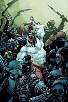 Lobo being metal, by J.G. Jones