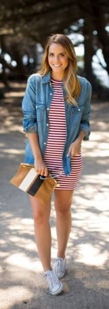 21 Cute Patriotic/Fourth of July Outfits That Are Fireworks-Worthy!: