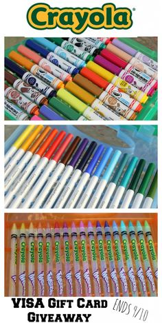 Crayola Back to School Haul + Gift Card Giveaway