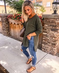 61 Best Fall Outfits Women Ideas to Wear Everyday . Mode Outfits, Casual Outfits, Fashion Outfits, Womens Fashion, Fashion Fashion, Fashion Ideas, Fall Winter Outfits, Spring Outfits, Fall Transition Outfits