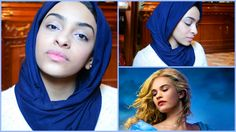 """""""Cinderella Lily James Natural Everyday Makeup Tutorial - مكياج سيندرلا"""" - Here's my first ever celebrity inspired makeup tutorial.  - Very natural and can be worn everyday. - Ps. I was facing the balcony in this video and that's why I look WHITE :'D  - Reem Noobo (MakeupForLunch)"""