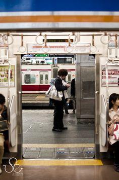 Train Station. Osaka Japan