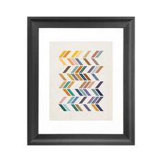 Minimalist Chevron Art Print