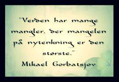 M. Gorbatsjov