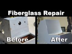 How To Boat Restoration; Fiberglass Hole Repair - YouTube
