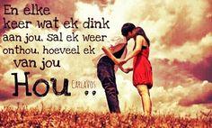 Ek hou van jou Marry Me Train, Train Lyrics, Afrikaans Quotes, Van, Memories, My Love, Movie Posters, Music, Youtube