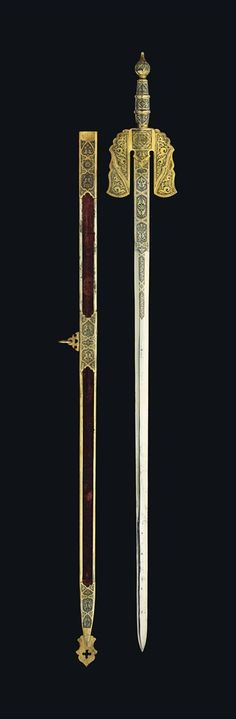 A TOLEDO SWORD - SPAIN, SECOND HALF 19TH CENTURY. - pinning it here for now, may have to start a new board on Andalusian weapons