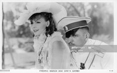 News Photo : Greta Garbo and Fredric March in a scene from the... Charles Bickford, The Painted Veil, Swedish Actresses, Hollywood Actresses, Roman, Fredric March, John Gilbert, Robert Montgomery, Hollywood Star