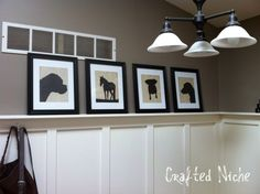 How to make Silhouette Prints using Picnik
