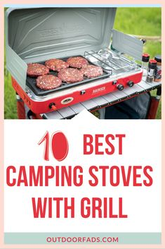 We can all agree that camping can be a wonderful experience, but when done wrong, it may not be all that wonderful. To have the best camping experience, there are some must-haves you need to take along with you, one of which is a camping stove grill combo Best Camping Stove, Camping Grill, Camping And Hiking, Camping With Kids, Family Camping, Tent Camping, Camping Gear, Family Trips, Camping Packing Hacks