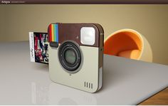 The Instagram camera is only a concept but when it's real, I would like one please!