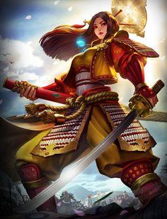 Smite God Reveal - Amaterasu - http://wp.me/p67gP6-4qU