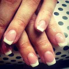 french nails, summer design