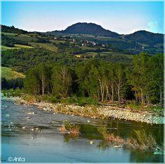 VAL TREBBIA Dal fiume la Pietra Parcellara