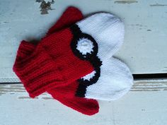 Pokemon mittens