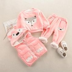 Buy Solid Full Sleeves Pink Hoodie and Pant Set online @ ₹770 | Hopscotch Baby Coupons, Baby Cartoon, Pink Fashion, Outfit Sets, Red And Pink, Cool Kids, Kids Outfits, Suits, Hoodies