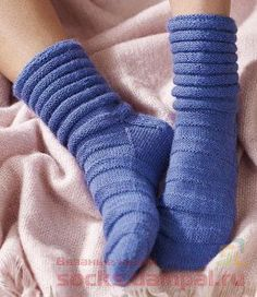 Носки «Andie» (Вязание спицами)