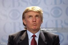 News Photo : Donald Trump at news conference at the GM...
