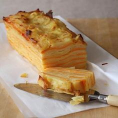 """Root Vegetable Terrine """"I serve this beautiful layered terrine whenever the occasion calls for something special. The terrine may look daunting to prepare but i"""