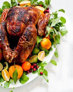 9 Secrets To Garnishing A Turkey Platter