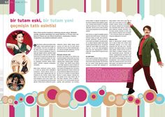 Retro magazine design by neergul.deviantart.com on @deviantART