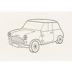 Cars, Boats, Planes e-patterns at Stitching Cards. Stitching Patterns, Card Patterns, Cross Stitch Patterns, Embroidery Cards, Embroidery Stitches, Embroidery Patterns, Mini Doodle, Cartoon Drawing Tutorial, Mini Cooper