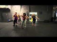 Zumba with Kit - Gimme Dat Bass - YouTube