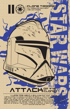 Star Wars: Attack of the Clones - movie poster - Kegan Rivers