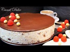 TARTA DE STRACCIATELLA SIN HORNO MUY FÁCIL - YouTube Gazpacho, Flan, Cheesecakes, Cake Pops, Food And Drink, Ice Cream, Pudding, Make It Yourself, Ethnic Recipes