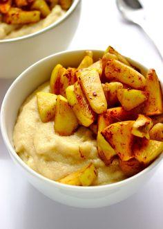 Fit kasza manna o smaku szarlotki Sweet Recipes, Healthy Recipes, Healthy Meals, Meal Prep, Breakfast Recipes, Good Food, Food And Drink, Vegetarian, Cooking