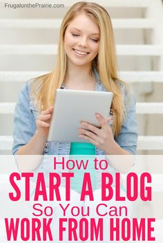 Ever wonder how to start a blog so you can work from home? Maybe you want  to be a stay at home parent or just really love the idea of saying buh-bye  to commuting and hello to lunches at home. Today's step-by-step tutorial is  going to show you how to set up a blog so you can start the exciting  journey of finding ways to bring in money from the comfort of your couch.  It's no secret that I love being a stay at home mom to my son, James. But  I've been working since I was 15 and I just love…