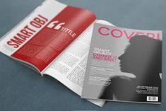 FREE PSD MockUp Mock Up, Free Web Design, Layout, Mockup Templates, Templates Free, Living At Home, Magazine Design, Cover, Behance