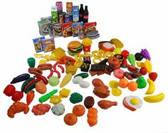 Amazon.com: 150 Pc. Great Big Grocery Play Food Set: Toys & Games