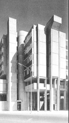 Movement In Architecture, Amazing Architecture, Modern Architecture, Portsmouth England, Concrete Structure, Constructivism, Interesting Buildings, Built Environment, Brutalist