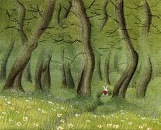 Disney's Alice in Wonderland concept art - by Mary Blair