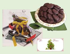 Vintage Ice Box Cookies - Good Food And Treasured Memories Christmas Baking, Christmas Cookies, Refrigerator Cookies, Toffee Bits, Sifted Flour, Cookie Box, Homemade Cookies, No Bake Cookies, Baking Sheet