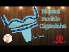 Biquíni Modelo Ciganinha em Crochê - YouTube