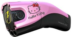 Maybe not hello kitty but I so want a pink tazer!!