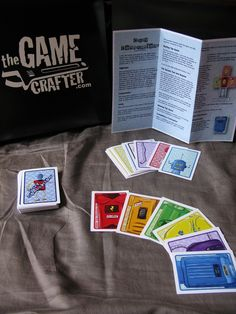 Crazy contraptions card game! Awesome art!