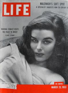 1953 LIFE MAGAZINE Cover Elaine Stewart Hollywood VINTAGE Starlet