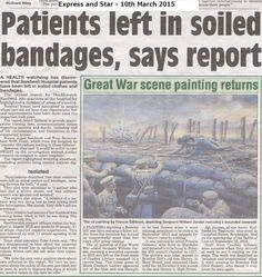 Press report following our report regarding patients concerns at Sandwell Hospital