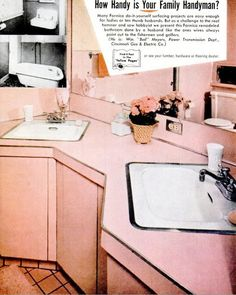 Mid-Century Living: Save the Pink Bathrooms!