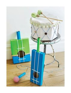 Sweet Paul's DIY muscical instrument pretend toys! - KIDS 2013 - Page 70-71