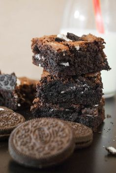 Schokoladige Oreo-Brownies