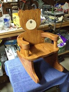 Teddy Bear Rocking Chair
