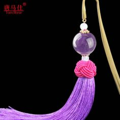 Tom-Horse Colored agate culture tassels 24K G/P souvenir gift bookmark #TomHorse #BridalShowerWedding