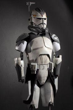 Star Wars Rebels, Star Wars Clone Wars, Star Wars Art, Director Krennic, Captain America Suit, Grand Admiral Thrawn, Helmet Armor, 501st Legion, Pauldron