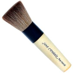 jane iredale Handi Brush- This brush is key for applying Jane's PurePressed powder. Set powder with one of our Jane Iredale setting sprays!
