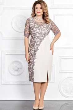 Elegant and stylish: dresses for overweight ladies of any age for the holidays Modest Dresses, Elegant Dresses, Beautiful Dresses, Formal Dresses, Stylish Dresses, Dance Dresses, Short Dresses, Mother Of Groom Dresses, Mothers Dresses