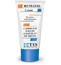 Crema Rumatis 50ml Tis Farmaceutic - crema de ardei iute, antiinflamator cu ardei iute, crema cu ardei Personal Care, My Style, Beauty, Personal Hygiene, Beauty Illustration